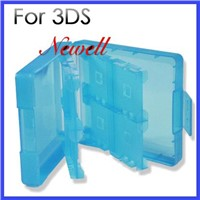 Crystal Plastic 16 Storage Case For 3ds Game Card