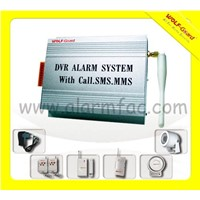 DVR alarm system with MMS&SMS function YL-007M8