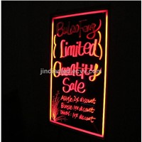 Edge Lighting LED Sign Board Popular on Oversea Market