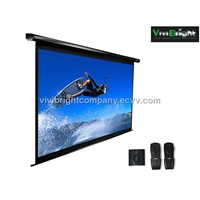 Electric / Motorized Screen with Remote Control