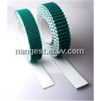 Embroidery Machine Timing Belt with Green Fabric on the Teeth