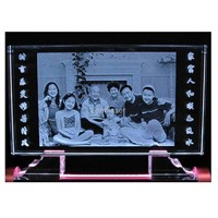 Family Photo Crystal Gifts/Wedding Photo Crystal Gifts
