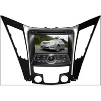 Free ship and high quality 2011 HYUNDAI SONATA car dvd player with gps