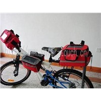 Full Set of Solar Bicycle Bag