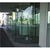 Full glass automatic door