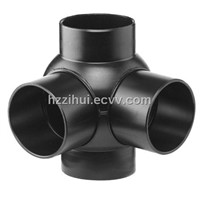 HDPE hydraulic same floor drainage system fittings