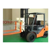 Hinged Forks Equiped on Toyota Forklift