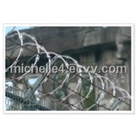 Hot Dipped Barbed Wire and PVC Barbed Wire