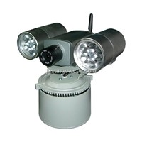 IP Camera with built-in GSM alarm and searchlight,can work with central monitoring station