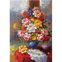 Impressionism Flower Oil Painting