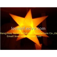 Inflatable party decoration light star
