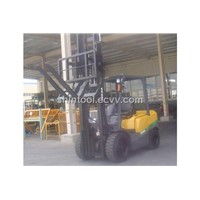 Forklift Attachment Intergrated Hinged Forks