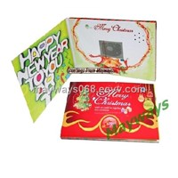 LCD Greeting Card/Digital Greeting Card