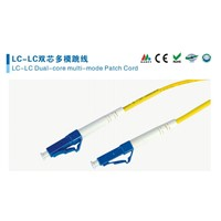 LC Fiber Optic Connector, Patch Cord