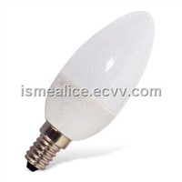 LED Candle Bulb with 66pcs SMD 3528 LED and 352mA Output Current