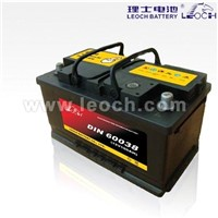 LEOCH Lead Acid Car Battery With 100AH Capacity