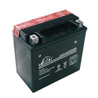 LEOCH MF Motorcycle battery With 12V Votlage and 12AH Capacity