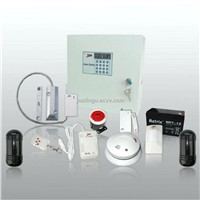 Dual Network Alarm System with 8/16 Wired zone and 99 Wireless Zone