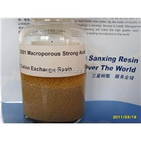 Macroporous Strong Acid Cation Exchange Resin