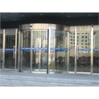 Offer luxury curved automatic door