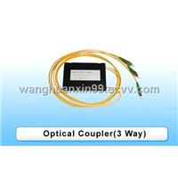Optic Fiber  Coupler (3 Way)