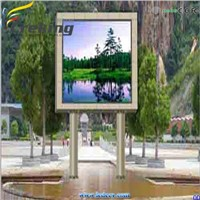 Outdoor full color P10 LED display panel