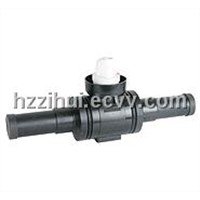 PE Ball Valves Gas Siphon Drainage System Fittings