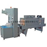 PE film automatic heat shrink packaging machine