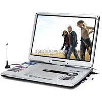 Portable DVD player with 16inch widescreen