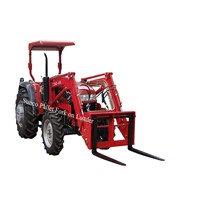 Put Pallet Fork on Loader for your Tractor wider use
