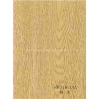 PVC High Gloss Film/Pvc Wood Veneer/Engineered Veneer/Pvc Decorative Film