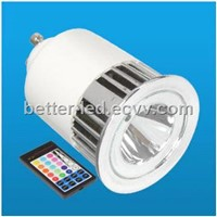 5W RGB led Spotlight