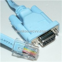 RJ45 to RS232 Cable Convertor
