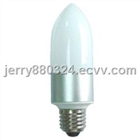Radiationless High Brightness LED Candle Bulb