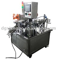 Rotary One Cup Juice and Cream Filling and Sealing Machine (R-3100)