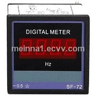 One-Phase Digital Frequency Meter (SFD-72-3-F)