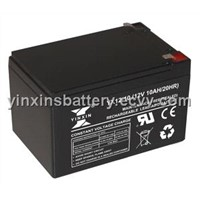 Sealed VRLA Motorcycle Battery 12v10Ah