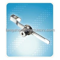 Slide glass door lock