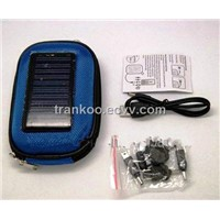 Solar Powered Bag Charger for Mobile Phones