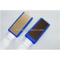 Solar Mobile Phone Charger with LED Flashlight