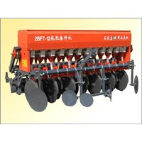 Suspension Type Grain Fertilization Seeder
