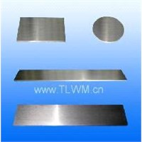 Tungsten plates and sheets