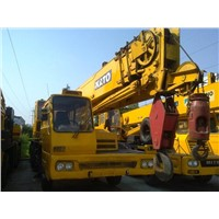 USED ORIGINAL HYDRAULIC 25 TON MOBILE TRUCK CRANE