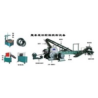 Waste Tire Rubber Powder Equipments