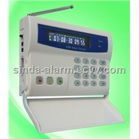 Wireless GSM Home Alarm System with LCD