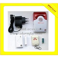 Wireless siren with flash alarm system(YL-007AS)