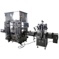 Twin Lane Liquid Filling Machine (XBGZJ-6250-Z)