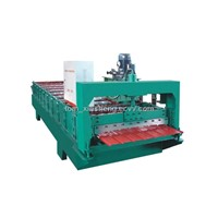 XS 910 Colored Steel Roll Forming Machine