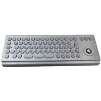 Vandal Proof Metal Keyboard (X-BP71B)