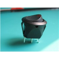 Electrical Round SPST Rocker Boat Switch with Window